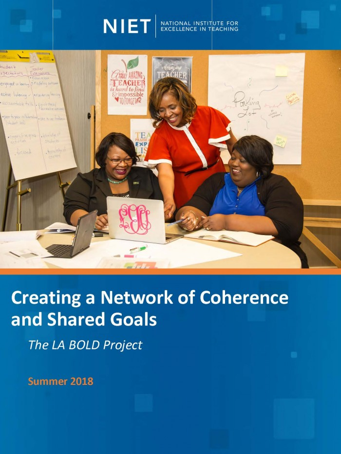 The LA BOLD Project: Creating a Network of Coherence and Shared Goals