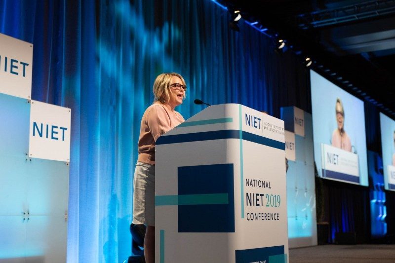 NIET Director of School Services Laura Roussel Addresses 2019 National NIET Conference