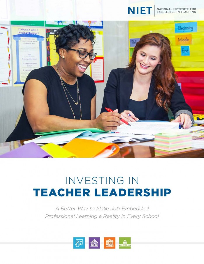 Investing in Teacher Leadership: A Better Way to Make Job-Embedded Professional Learning a Reality in Every School