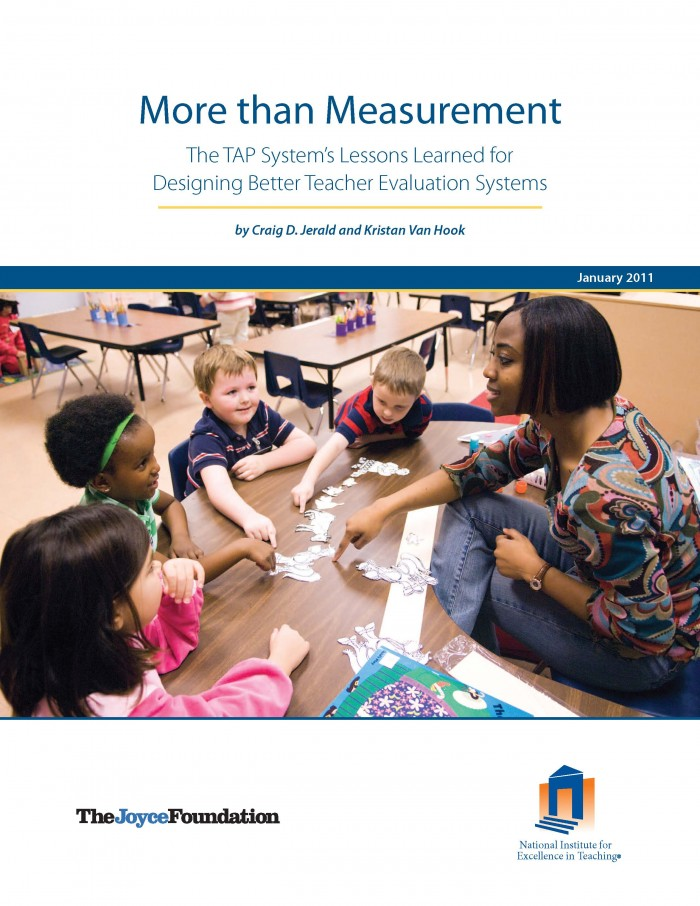 More than Measurement: The TAP System's Lessons Learned for Designing Better Teacher Evaluation Systems
