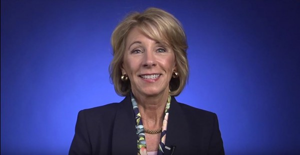 U.S. Education Secretary Betsy DeVos Addresses 17th National TAP Conference