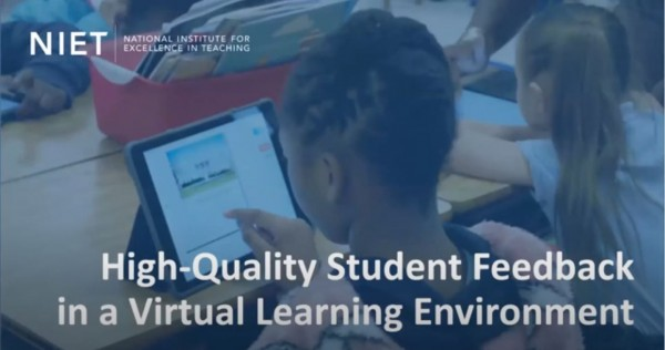 Providing High-Quality Student Feedback in a Virtual Learning Environment