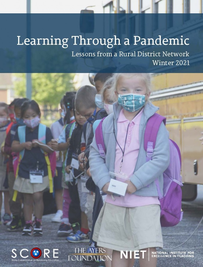 Learning Through a Pandemic: Lessons from a Rural District Network