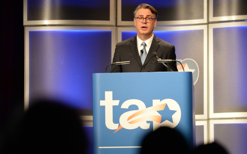 Gary Stark addresses TAP Conference