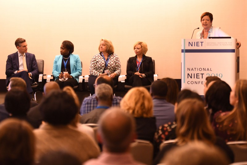 NIET Co-President and Chief Strategy Officer Dr. Patrice Pujol Leads School Improvement Solutions Panel