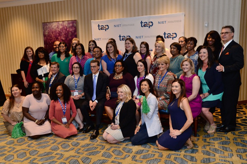 Lowell Milken, Gary Stark, Carver Staff and Ascension Leaders Celebrate 2017 TAP Founder's Award
