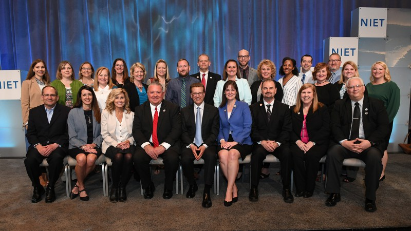 Perry Township Schools Celebrates National NIET Award of Excellence for Educator Effectiveness