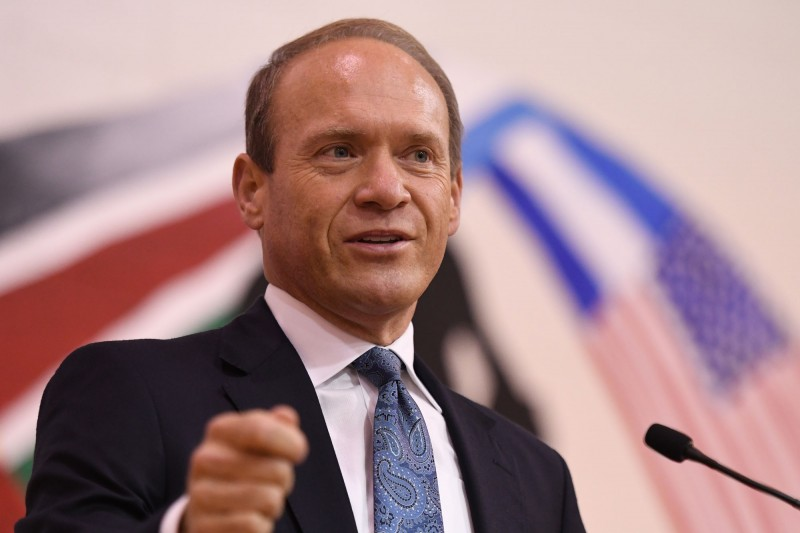 Indiana State Board of Education Member Vince Bertram Addresses Assembly