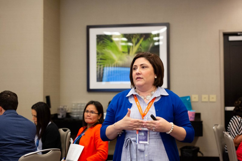 NIET Senior Program Specialist Jennifer Campbell Develops Reflective Teachers