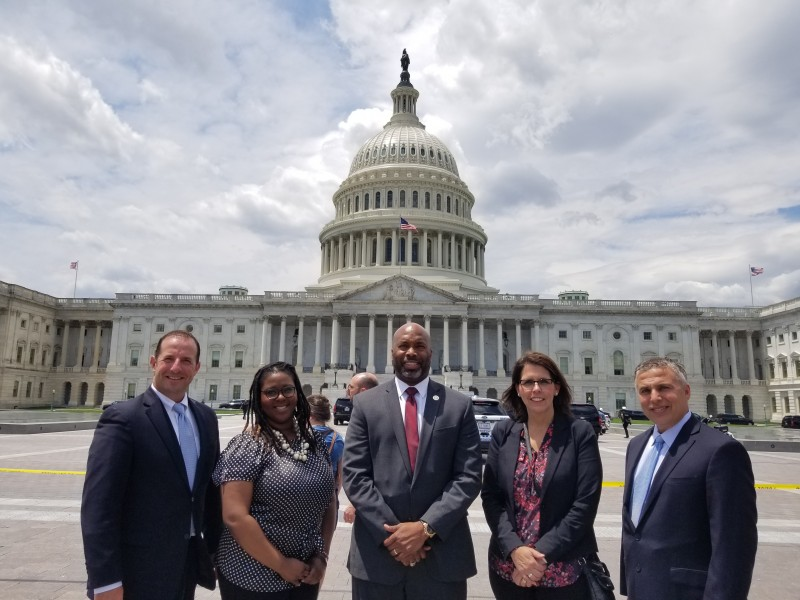 NIET and Partner Educators Visit Capitol Hill