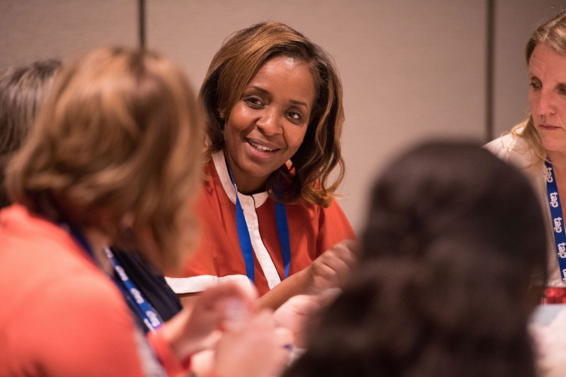 Tracy Lofton Hypolite collaborates with TAP conference attendees