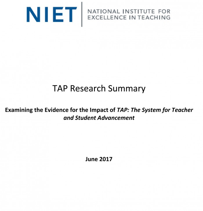 TAP Research Summary: June 2017