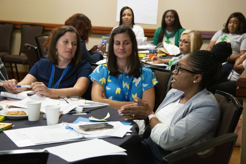 Educators collaborate at the 2019 NIET Summer Institute