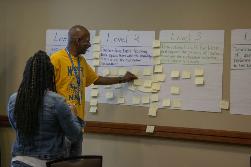 Educators explore tiered curriculum