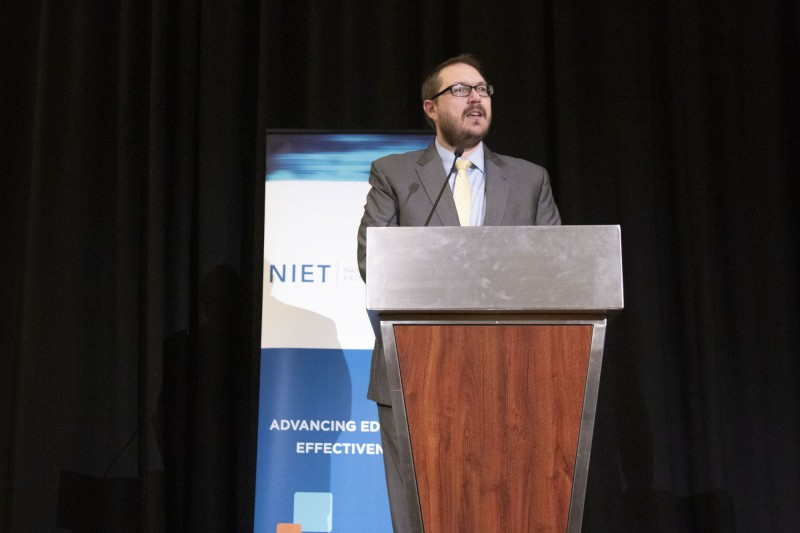 NIET President and COO Dr. Joshua Barnett addresses 2019 NIET Summer Institute