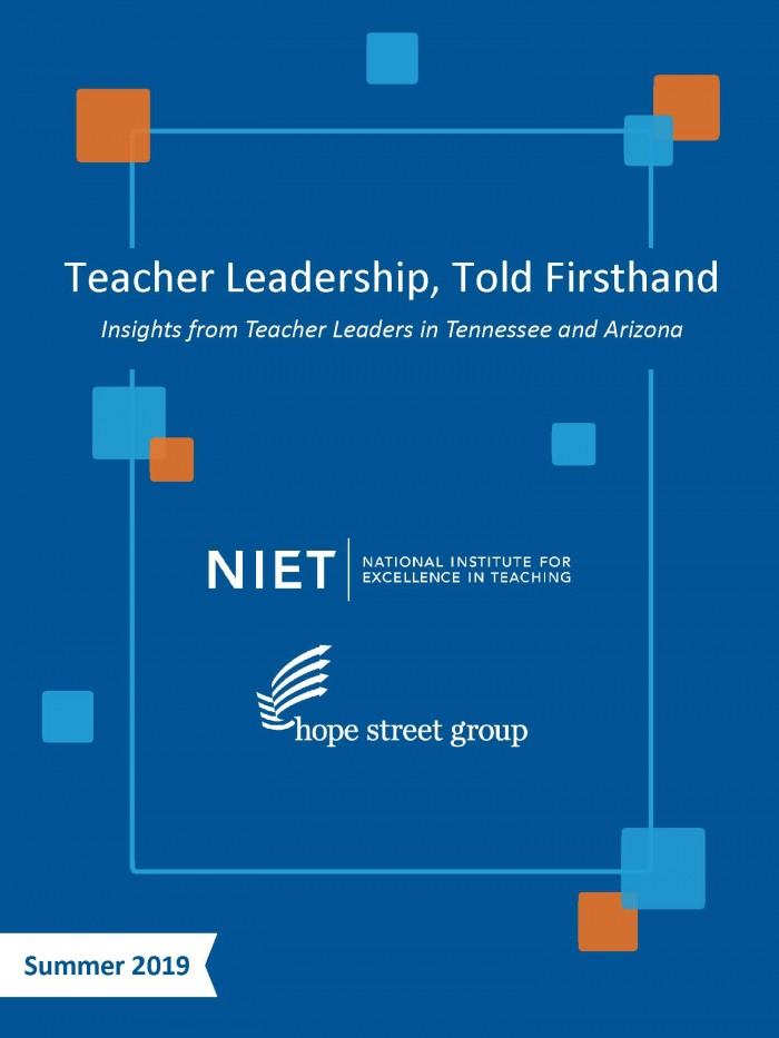 Teacher Leadership, Told Firsthand
