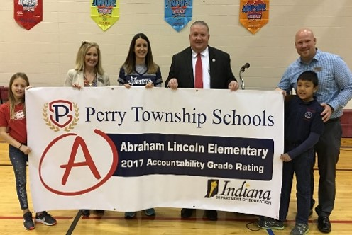 Abraham Lincoln Elementary School in Perry Township, Indiana, Named 2018 TAP Founder's Award Finalist