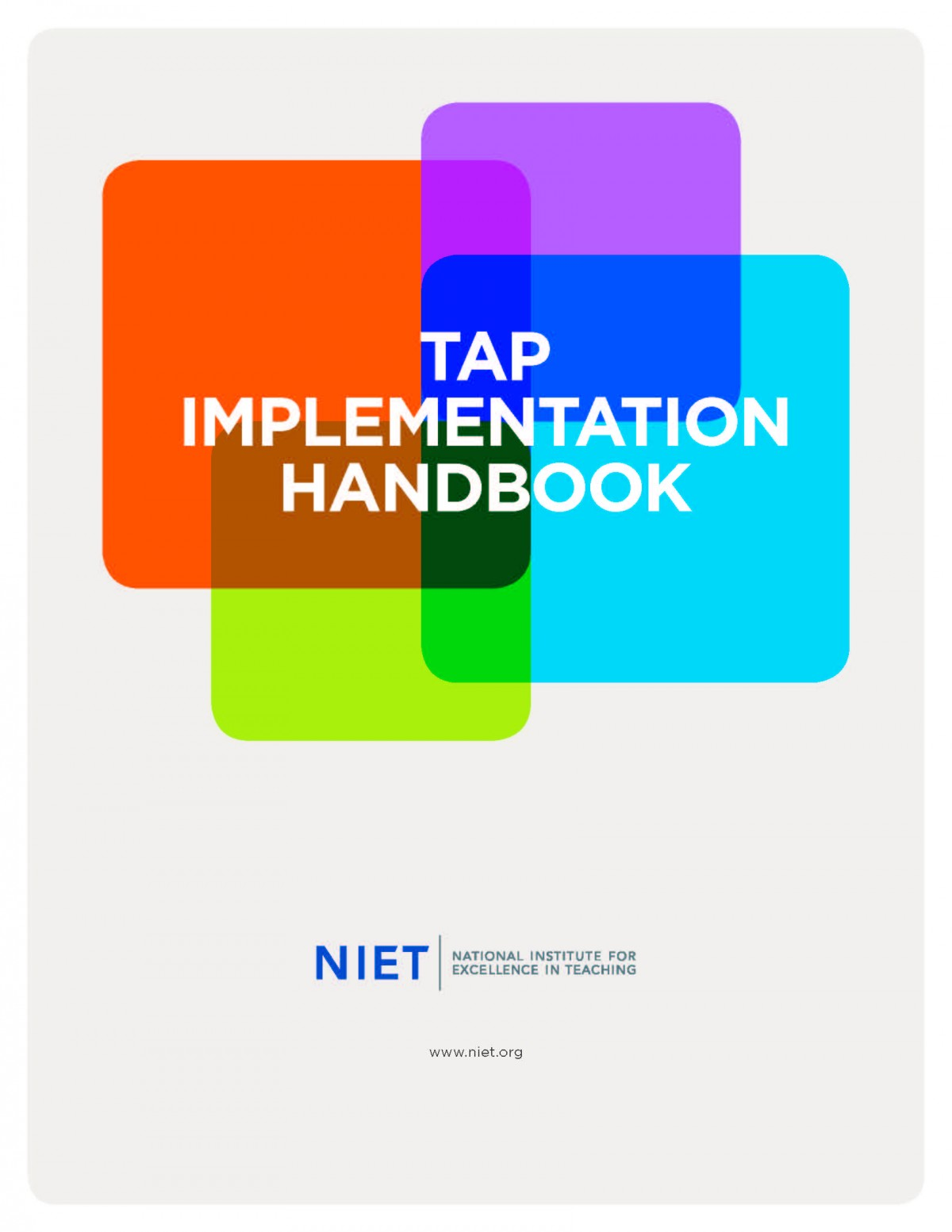 TAP Implementation Handbook